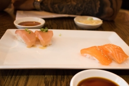 sugarfish sushi- the best sushi ever! It was so fresh and soft